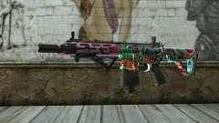 Graffiti Assault rifle v2