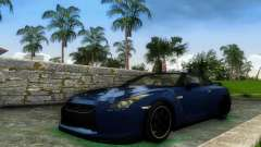 Nissan GT-R SpecV Black Revel für GTA Vice City