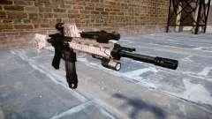 Fusil automatique Colt M4A1 cerise blososm