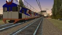 Indonesische diesel-Zug MCW-302