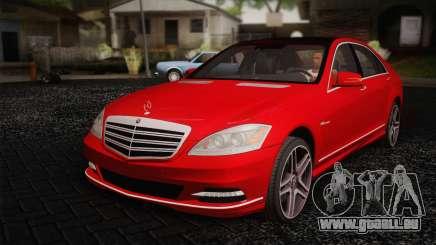 Mercedes-Benz S70 W221 für GTA San Andreas