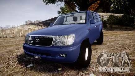 Toyota Land Cruiser pour GTA 4