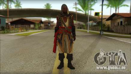 Adewale from Assassins Creed 4: Freedom Cry pour GTA San Andreas