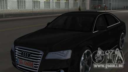 Audi A8 2010 W12 Rim6 pour GTA Vice City