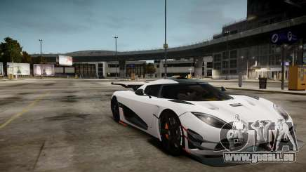 Koenigsegg Agera One:1 air core pour GTA 4