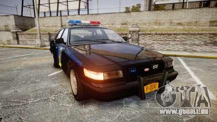 Vapid Police Cruiser LSPD Generation [ELS] für GTA 4