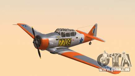 North American T-6 TEXAN 7709 pour GTA San Andreas