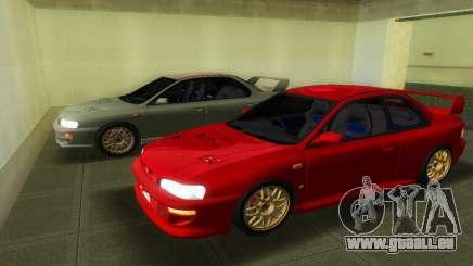 Subaru Impreza WRX STI GC8 22B für GTA Vice City