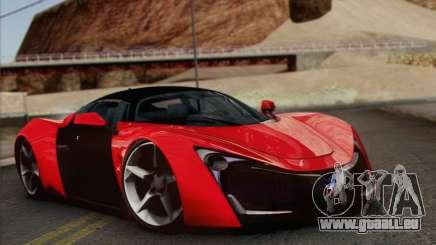 Marussia B2 pour GTA San Andreas
