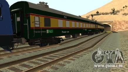 Pakistan Railways Train für GTA San Andreas