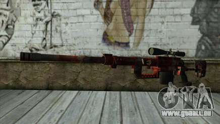 Sniper Rifle from PointBlank v3 für GTA San Andreas
