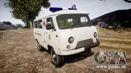 UAZ-39629 ambulance Hongrie pour GTA 4