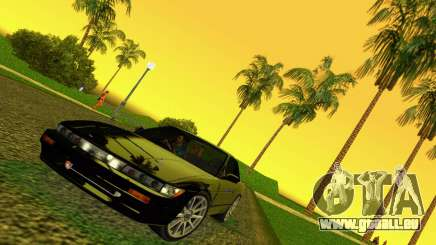 Nissan Silvia S13 RB26DETT Black Revel für GTA Vice City