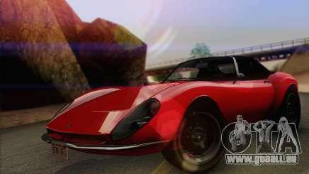 Grotti Stinger 1.0 (IVF) pour GTA San Andreas