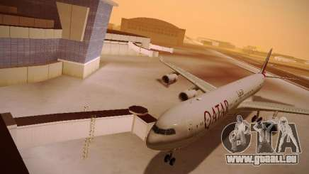 Airbus A340-600 Qatar Airways für GTA San Andreas