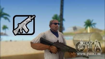Israélien carabine ACE 21 pour GTA San Andreas