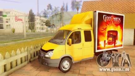 33023 GAZelle Godsmack - a 1000cv (2014) pour GTA San Andreas