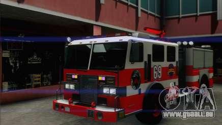 SAFD BRUTE Firetruck pour GTA San Andreas