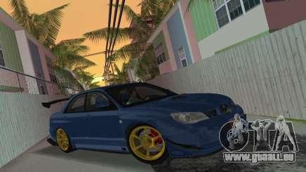 Subaru Impreza WRX STI 2006 Type 2 pour GTA Vice City