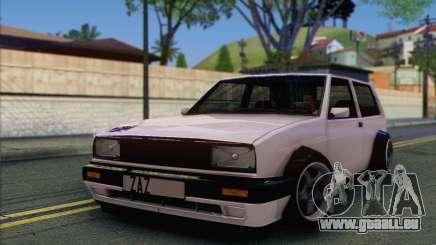 Volkswagen Club Mk2 für GTA San Andreas