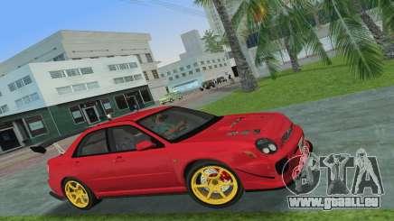 Subaru Impreza WRX 2002 Type 4 pour GTA Vice City