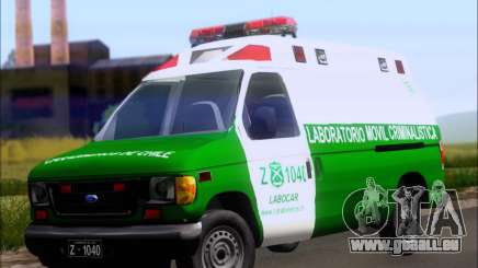 Ford E-150 Labocar pour GTA San Andreas