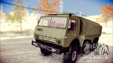 Die KamAZ-6350 (APT) für GTA San Andreas