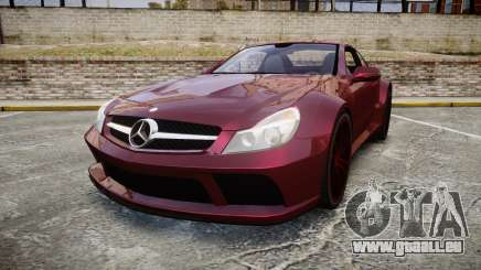 Mercedes-Benz SL 65 AMG Black Series pour GTA 4