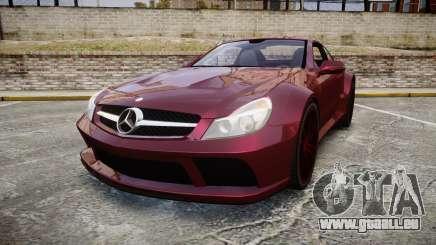 Mercedes-Benz SL 65 AMG Black Series pour GTA 4