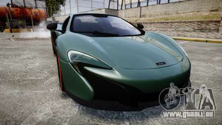 McLaren 650S Spider 2014 [EPM] Bridgestone v2 pour GTA 4