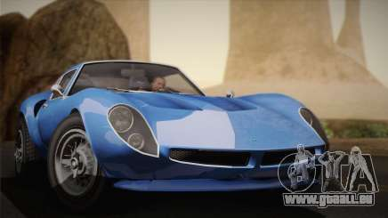 GTA 5 Stinger GT für GTA San Andreas