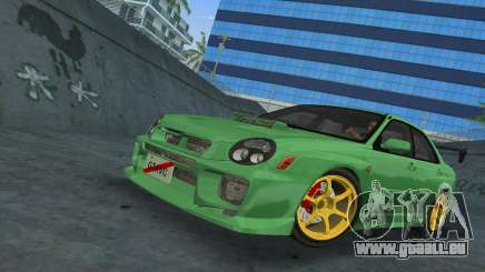 Subaru Impreza WRX 2002 Type 3 für GTA Vice City