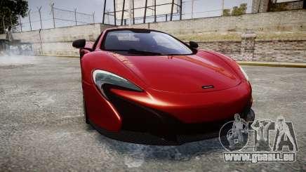 McLaren 650S Spider 2014 [EPM] Michelin v2 pour GTA 4