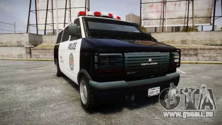Declasse Burrito Police für GTA 4
