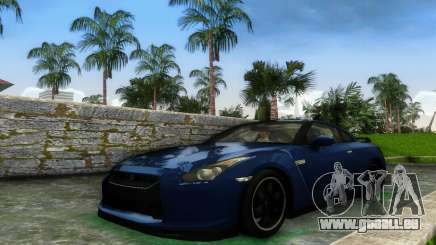 Nissan GT-R SpecV Black Revel pour GTA Vice City