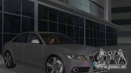 Audi S4 (B8) 2010 - Metallischen pour GTA Vice City