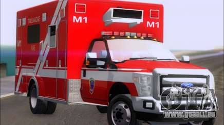 Ford F-350 Super Duty TFD Medic 1 pour GTA San Andreas