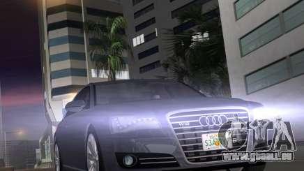 Audi A8 2010 W12 Rim1 pour GTA Vice City
