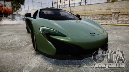 McLaren 650S Spider 2014 [EPM] Continental pour GTA 4