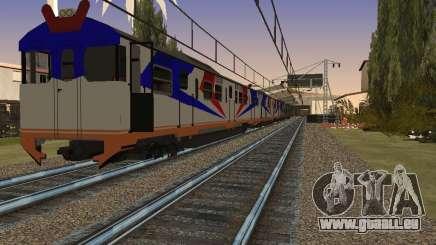 Indonesische diesel-Zug MCW-302 für GTA San Andreas