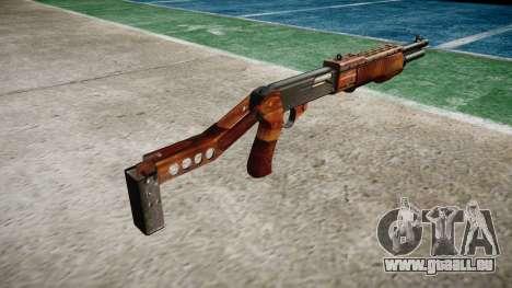 Ружье Franchi SPAS-12 Bacon pour GTA 4 secondes d'écran