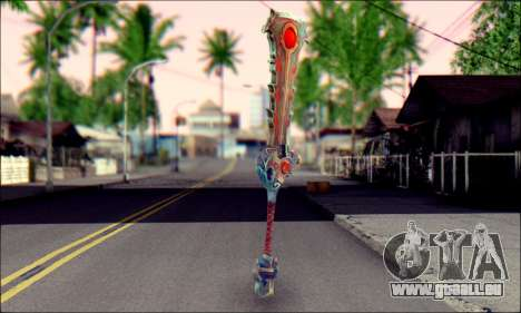Меч (World Of Warcraft) v2 pour GTA San Andreas deuxième écran