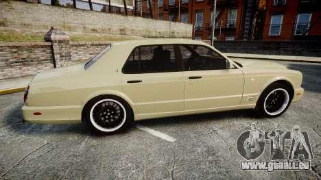 Bentley Arnage T 2005 Rims1 Black pour GTA 4 est une gauche