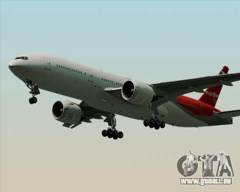 Boeing 777-21BER Nordwind Airlines für GTA San Andreas Seitenansicht