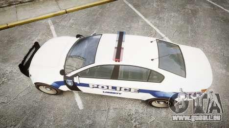 GTA V Cheval Fugitive LS Liberty Police [ELS] für GTA 4 rechte Ansicht
