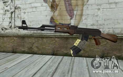 AK47 from Firearms v2 pour GTA San Andreas