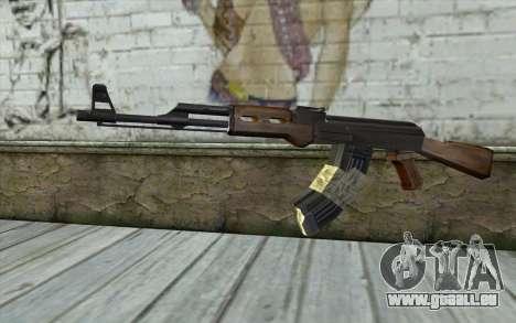 AK47 from Firearms v2 für GTA San Andreas
