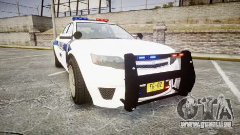 GTA V Cheval Fugitive LS Liberty Police [ELS] pour GTA 4