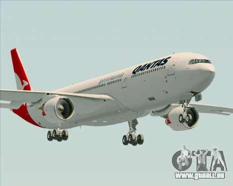 Airbus A330-300 Qantas (New Colors) pour GTA San Andreas vue de côté