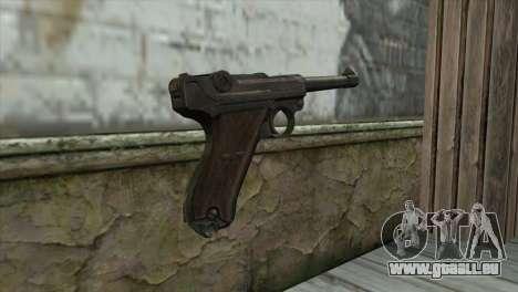 Luger P-08 pour GTA San Andreas deuxième écran